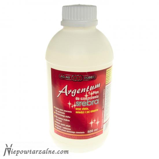 Płyn do czyszczenia biżuterii - Argentum 500 ml