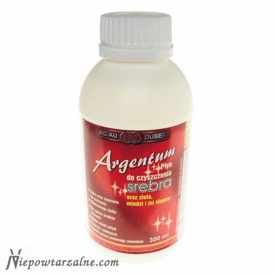 Płyn do czyszczenia biżuterii - Argentum 300 ml