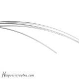 Drut srebrny próby 930 - 1 mm - 50 cm